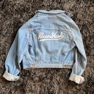 Brandy Melville Oversized New York Jean Jacket
